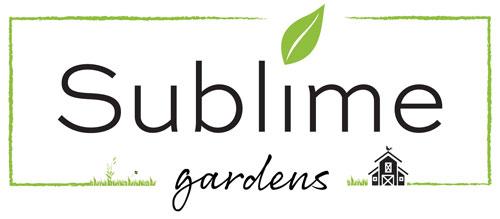 Sublime Gardens Logo